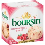 Boursin Cranberry and Spice Cheese Puck, 5.2 Ounce -- 6 per case.
