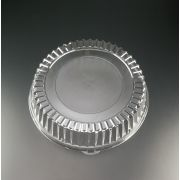 Yoshi Ware Emi Clear Round Dome Lid Only, 18 inch -- 25 per case.