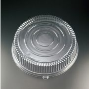 Yoshi Ware Emi Clear Round Dome Lid Only - Pet, 18 inch -- 25 per case.