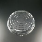 Yoshi Ware Emi Clear Low Profile Round Dome Lid Only - Pet, 16 inch -- 25 per case.