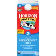 Horizon Organic 2 Percent Reduced Fat Milk, 64 Ounce -- 6 per case.