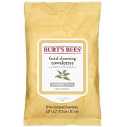 Burts Bees White Tea Extract Facial Cleanser Towelettes, 10 count per pack -- 32 per case