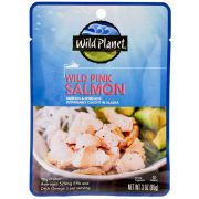Wild Planet Foods Wild Pink Salmon, 3 Ounce Pouch -- 24 per case
