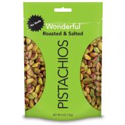 Wonderful Shelled Roasted and Salted Pistachio, 6Ounce -- 6 per case.
