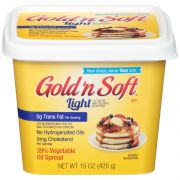 Gold N Soft Light 39 Percent Vegetable Oil Spread, 0.93 Pound -- 6 per case.