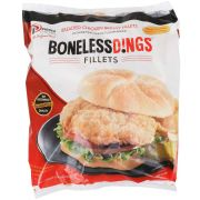 Wing Dings Breaded Chicken Breast Fillet, 5 Pound -- 2 per case