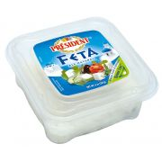 President All Natural Plain Feta Cheese Chunk, 8 Ounce -- 12 per case.