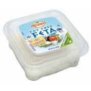 President Fat Free Plain Crumbled Feta Cheese Chunk, 8 Ounce -- 12 per case.