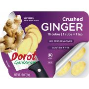 Dorot Chopped Ginger Ovals, 25 Ounce -- 16 per case