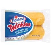 Hostess Twinkie Golden Sponge Cake with Creamy Filling, 2.7 Ounce -- 36 per case.