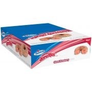 Hostess Glazed Strawberry Jumbo Donuts, 4 Ounce -- 36 per case.