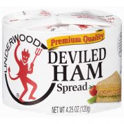 B and G Underwood Deviled Ham Spread, 4.25 Ounce -- 24 per case.