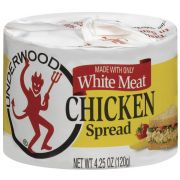 B and G Underwood Chicken White Meat Spread, 4.25 Ounce -- 24 per case.