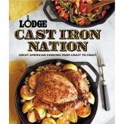 Lodge Cast Iron Nation Cookbook -- 4 per case.