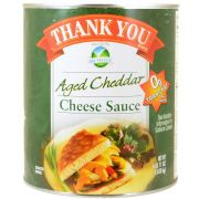 Great Western Aged Cheddar Cheese Sauce, 105 Ounce -- 1 each