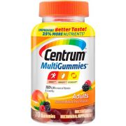 Centrum Adult Multivitamin Gummies, 70 count per pack -- 12 per case.