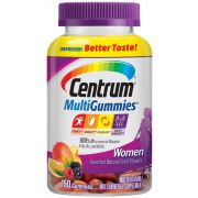 Centrum Women Multivitamin Gummies, 150 count per pack -- 12 per case.