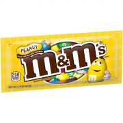 M and Ms Peanut Candy, 1.74 Ounce -- 384 per case.