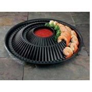 Party Tray Shrimp Ring Platter and Lid -- 24 per case