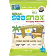 Sea Snax Grab and Go Wasabi Seaweed Snack, 0.18 Ounce -- 12 per case