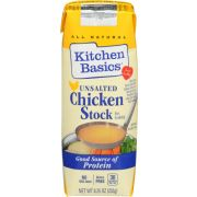 Kitchen Basics Unsalted Chicken Stock, 8.25 Ounce -- 12 per case