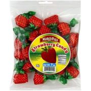 Marco Polo Hard Strawberry Candy, 7 Ounce -- 24 per case