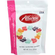 Albanese Mini Butterfly Gummy Candy, 9 Ounce -- 6 per case