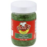 Rolf's Deli Style Sweet Pickle Relish, 12 Ounce -- 6 per case