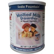 Soda Fountain Malted Milk Powder, 16 Ounce -- 6 per case