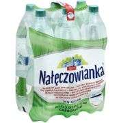 Naleczowianka Carbonated Mineral Water, 6 count per pack -- 1 each