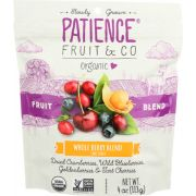 Patience Fruit and Co Organic Whole Berry Blend, 4 Ounce -- 8 per case