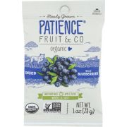 Patience Fruit and Co Whole and Soft Dried Wild Blueberries - Caddy, 1 Ounce -- 15 per case
