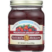 Nature's Hollow Sugar Free Mountain Berry Jam, 10 Ounce -- 6 per case