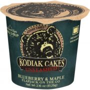 Kodiak Cakes Unleashed Blueberry and Maple Flapjack Mix, 2.16 Ounce Cup -- 12 per case