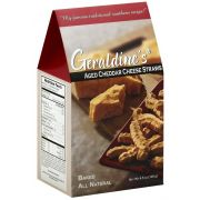 Geraldines Traditional Cheese Straws, 4.5 Ounce -- 6 per case