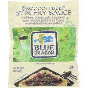 Blue Dragon Broccoli Beef Stir Fry Sauce, 3.4 Ounce -- 12 per case