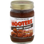 Hooters Three Mile Island Wing Sauce, 12 Ounce -- 6 per case