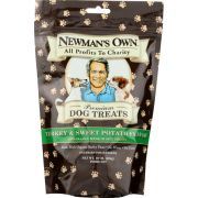 Newmans Own Organic Turkey and Sweet Potato Dog Treats, 10 Ounce -- 6 per case