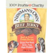 Newmans Own Organic Beef Jerky and Sweet Potato Receipe Dog Treats, 5 Ounce -- 6 per case