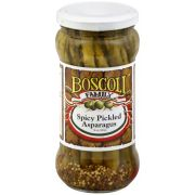 Boscoli Spicy Pickled Asparagus, 12 Ounce -- 6 per case