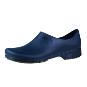 Sticky Shoes Man Style Navy Blue Clogs, Size 8.5  -- 1 pair