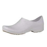 Sticky Shoes Man Style White Clogs, Size 15  -- 1 pair