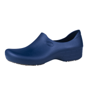 Sticky Shoes Woman Style Navy Blue Clogs, Size 7  -- 1 pair