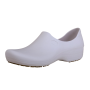 Sticky Shoes Woman Style White Clogs, Size 7  -- 1 pair