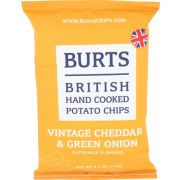 Burts Vintage Cheddar and Green Onion Potato Chips, 5.3 Ounce -- 10 per case