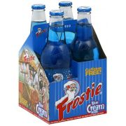 Frostie Blue Cream Soda, 4 count per pack -- 6 per case