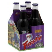 Frostie Concord Grape Soda, 4 count per pack -- 6 per case