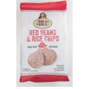 Hola Nola Camellia Red Beans and Rice Tortilla Chips, 12 Ounce -- 9 per case