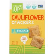 From The Ground Up Sea Salt Cauliflower Crackers, 4 Ounce -- 6 per case
