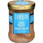 Tonnino Tuna Fillets in Spring Water, 6.7 Ounce -- 6 per case
